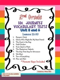 Journeys Vocabulary Tests 2nd Grade- Unit 5 and 6