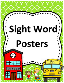 Journeys Vocabulary Word Posters