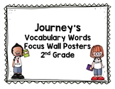 Journeys Vocabulary Words Posters