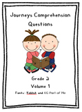 Journeys Volume 1 Comprehension Questions