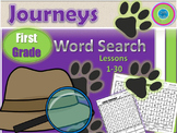 Journeys First Grade WORD Search- Spelling & High Frequenc