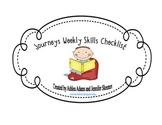 Journeys Weekly Skills Checklist