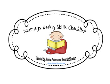 Journeys Weekly Skills Checklist