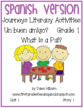 Journeys®  What is a Pal?  *SPANISH*