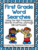 1st Grade Word Searches with Words to Know from the Journeys 2011 series