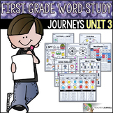 Word Study NO PREP (Journeys Phonics First Grade Unit 3 Supplemental Resource)
