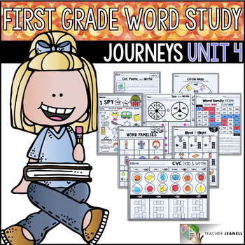 Journeys Word Study First Grade Unit 4