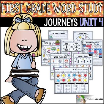 Journeys Word Study First Grade Unit 4 / Journeys Phonics