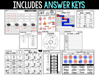 Word Study NO PREP (Journeys Phonics First Grade Unit 4 Supplemental Resource)
