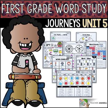 Journeys Word Study First Grade Unit 5 / Journeys Phonics