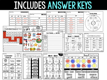 Word Study NO PREP (Journeys Phonics First Grade Unit 5 Supplemental Resource)