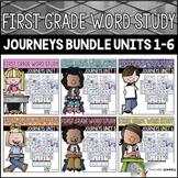Journeys Word Study First Grade Units 1-6 BUNDLE - Journey