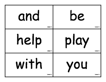 Journeys Word Wall Cards- First Grade