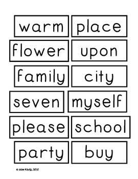 Word Wall Word Cards 1st Grade: High Frequency Vocabulary aligned with Journeys