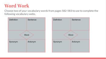 Journeys Word Work Grade 5