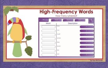 Journeys Word Work, Smart Board, Interactive Games, 18 Slides, Gr. 2, Lesson 6