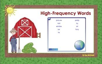 Journeys Word Work, Smart Board, Interactive Games, 18 Slides, Gr. 2, Lesson 7