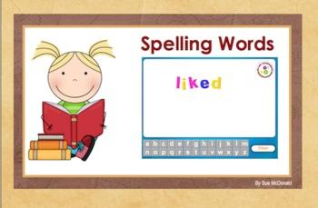 Journeys Word Work, Smart Board, Interactive Games, 18 Slides, Gr. 2, Lesson 9
