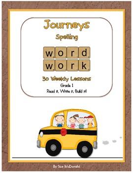 Journeys Word Work–Spelling-Read it, Write it, Build it! Yearlong -Grade 1