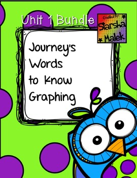 Journeys Words to Know Graphing