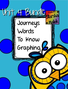 Journeys Words to Know Graphing Bundle Unit 4