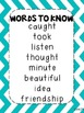 Journeys Words to Know Posters Unit 6