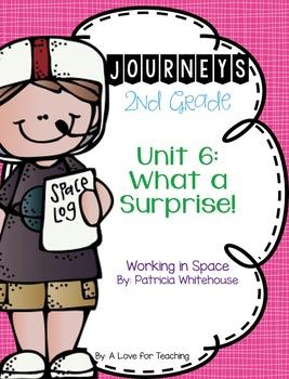 Journeys Working in Space Grade 2 {Editable}