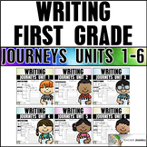 Writing Practice Bundle (Journeys First Grade Writing Units 1-6 Supplement)