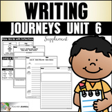 Writing Practice (Journeys Writing First Grade Unit 6 Supp