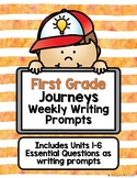 Journeys Writing Prompts - First Grade