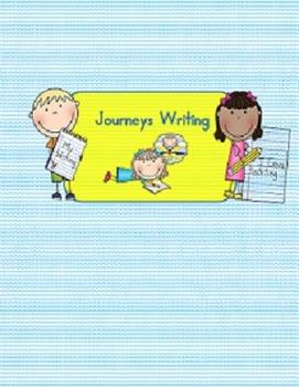 Journeys Writing  Activities first grade