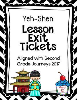 Journeys- Yeh-Shen Exit Tickets