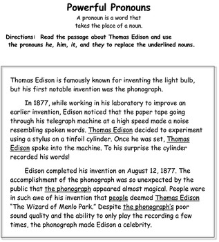 Journeys - Young Thomas Edison Packet