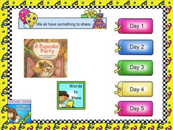 Journeys 2011 first grade smartboard Unit 2 Lesson 10