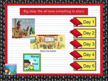 Journeys first grade smartboard Unit 2 Lesson 9