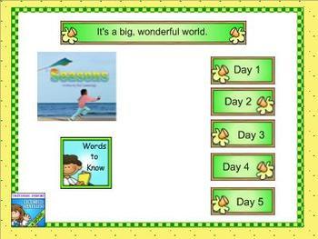 Journeys first grade smartboard Unit 3 Lesson 13