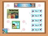 Journeys first grade smartboard Unit 5 Lesson 25