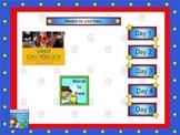 Journeys first grade smartboard Unit 6 Lesson 27