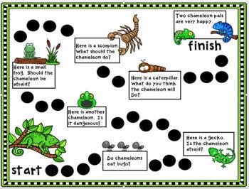 Journeys for Kindergarten Chameleon, Chameleon Unit 5 Lesson 24