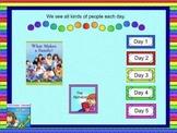 Journeys 2011 kindergarten smartboard Unit 1 lesson 1