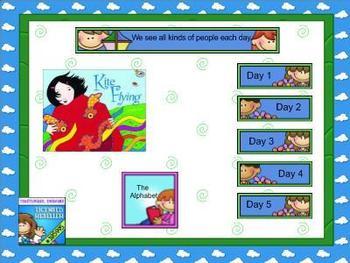 Journeys kindergarten smartboard Unit 1 lesson 5