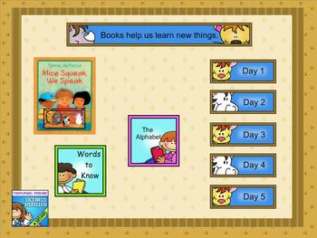 Journeys kindergarten smartboard Unit 2 Lesson 7