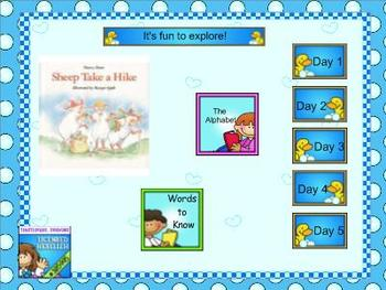 Journeys kindergarten smartboard Unit 4 Lesson 19
