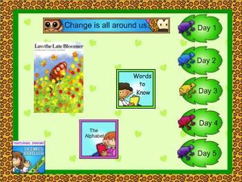 Journeys kindergarten smartboard Unit 5 Lesson 22