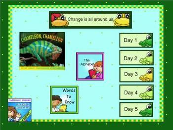 Journeys kindergarten smartboard Unit 5 Lesson 24