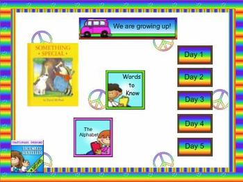 Journeys kindergarten smartboard Unit 6 Lesson 26