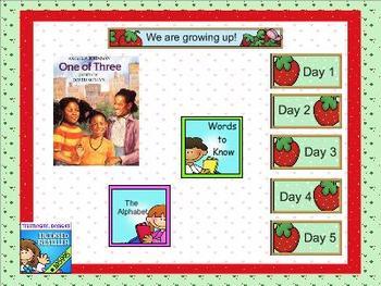 Journeys kindergarten smartboard Unit 6 Lesson 27