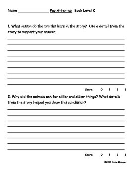 Journeys lesson 11 guided reading comprehension questions