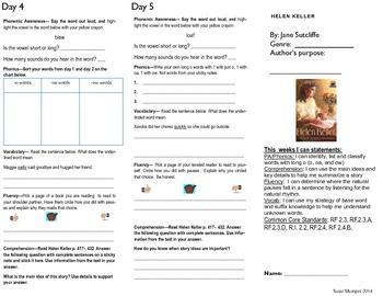 Journeys lesson 14 Helen Keller
