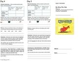Journeys lesson 24 Half-Chicken trifold